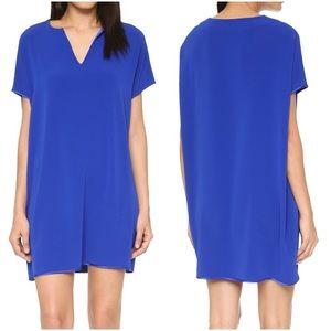 Diane Von Furstenberg Blue Shift Dress Kora